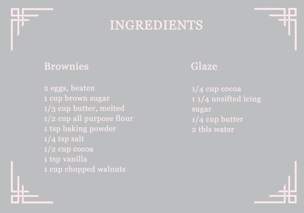 Brownie Recipe Rose's Recipes